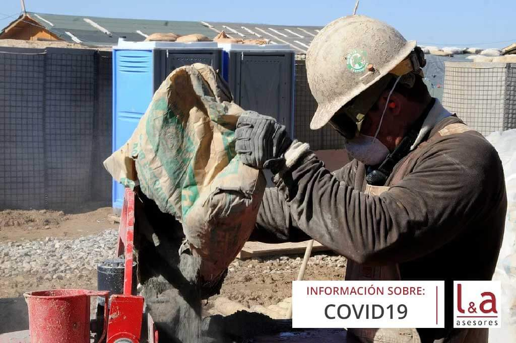 El Gobierno suspenden aquellas obras de reforma en las que exista riesgo de contagio por el COVID-19 para personas no relacionadas con dicha actividad
