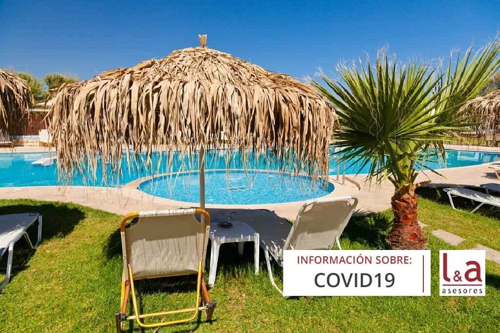 FASE 2: Normas reapertura de zonas comunes de hoteles y alojamiento turísticos