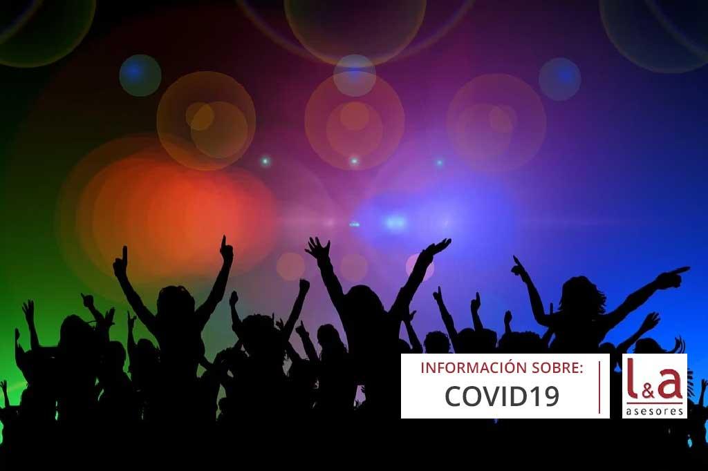 Nuevas medidas frente al COVID para locales de ocio, hostelería y restauración
