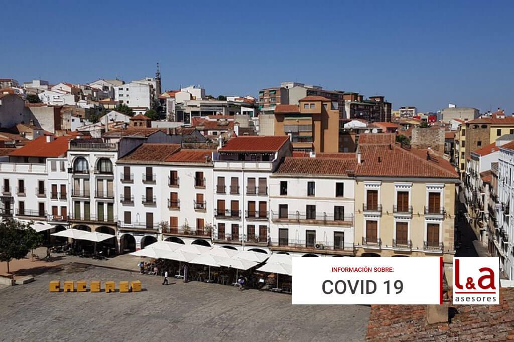 Resumen Medidas Especiales Covid19 Cáceres Octubre de 2020