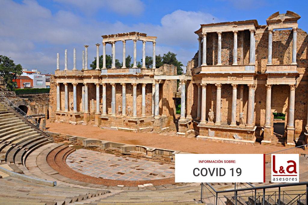 Resumen medidas extraordinarias en Extremadura a partir del 8-11-2020