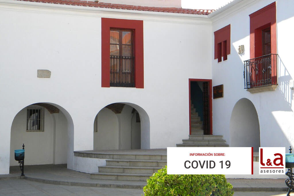 Resumen medidas extraordinarias Cáceres, Casar de Cáceres y Torreorgaz